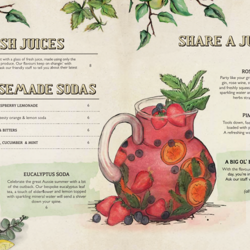 The Potting Shed Juices & Jugs