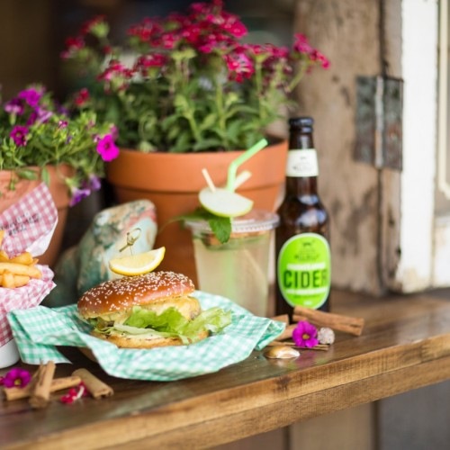 Grab a Hillbilly Cider with a burger