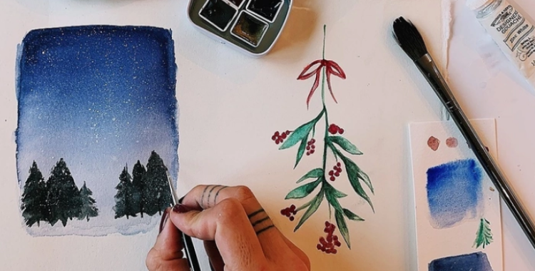 The Grounds: Christmas Cards Masterclass