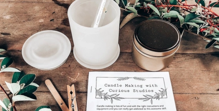 The Grounds: Christmas Candle Masterclass
