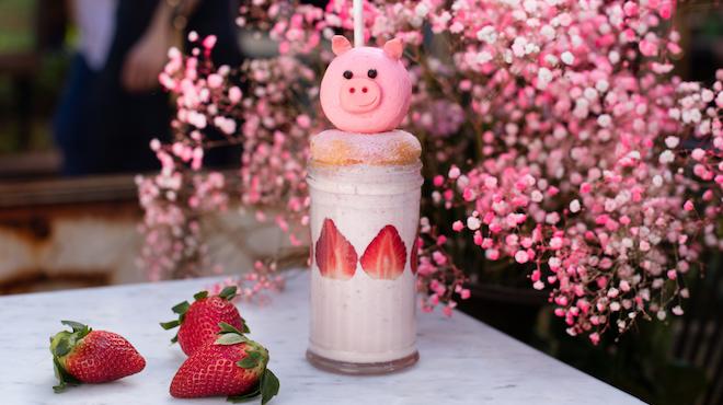 The Grounds Piggy Piggy Milkshake