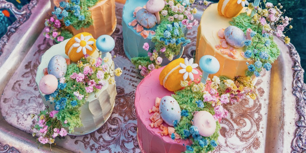 The Grounds of Alexandria Easter 2019 Over The Rainbow Cake