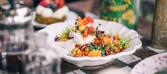 Healthy Autumn Recipe: The Grounds' Moroccan Bowl