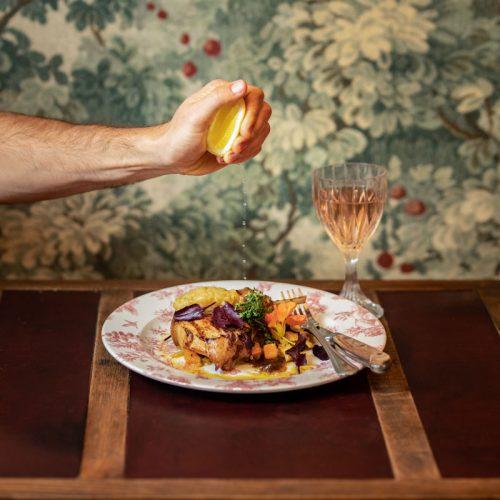 Dinner Sydney CBD - Pork Loin Chop at The Grounds of the City