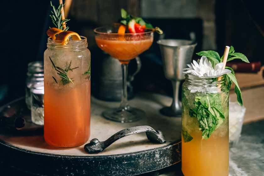 The Grounds of the City Dry July Mock-Tails