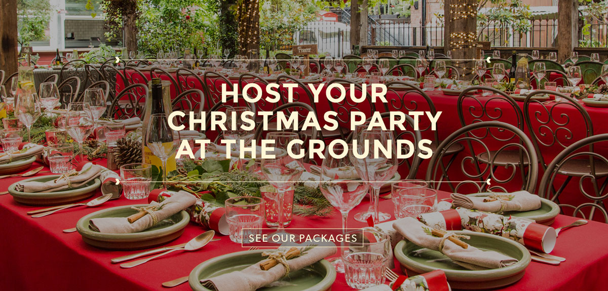 Christmas Parties at The Grounds