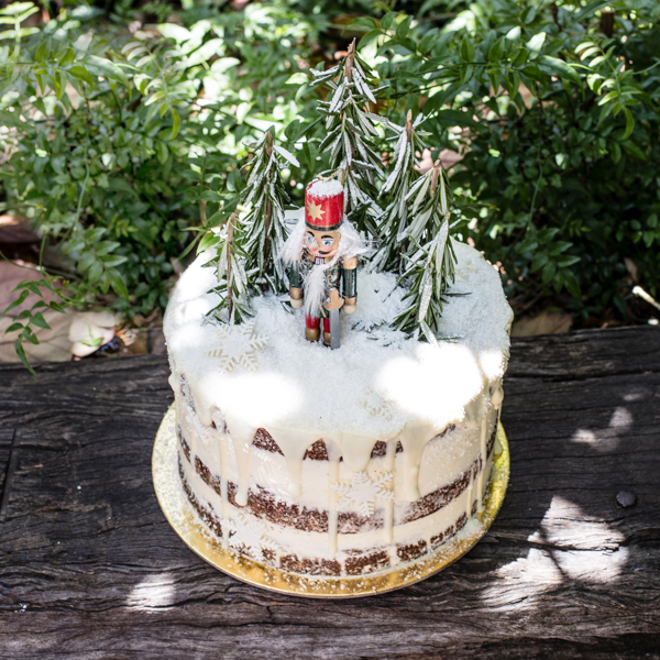 The Grounds Nutcracker Cake