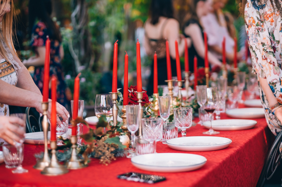 The Grounds Christmas Table Styling Masterclass