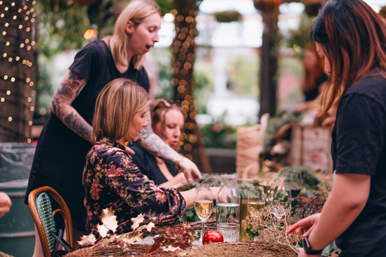 The Grounds Christmas Wreath Making Masterclass