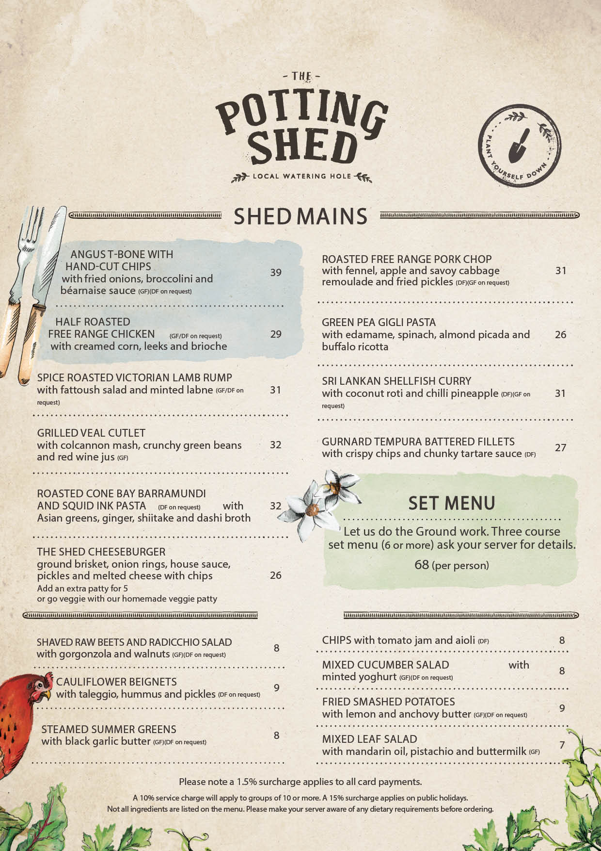 Potting Shed Menu pg2 | The Grounds of Alexandria