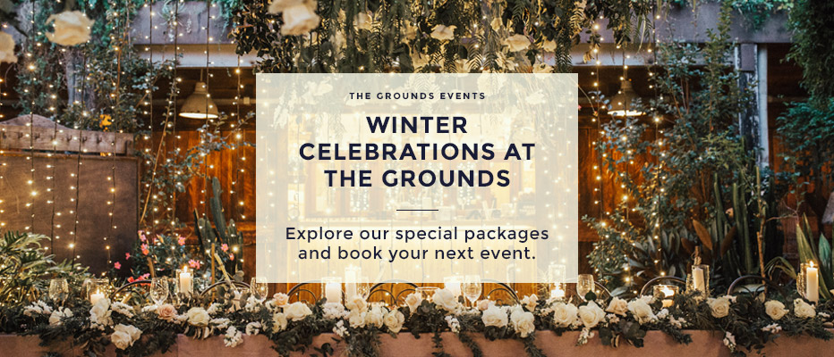 Winter Events at The Grounds