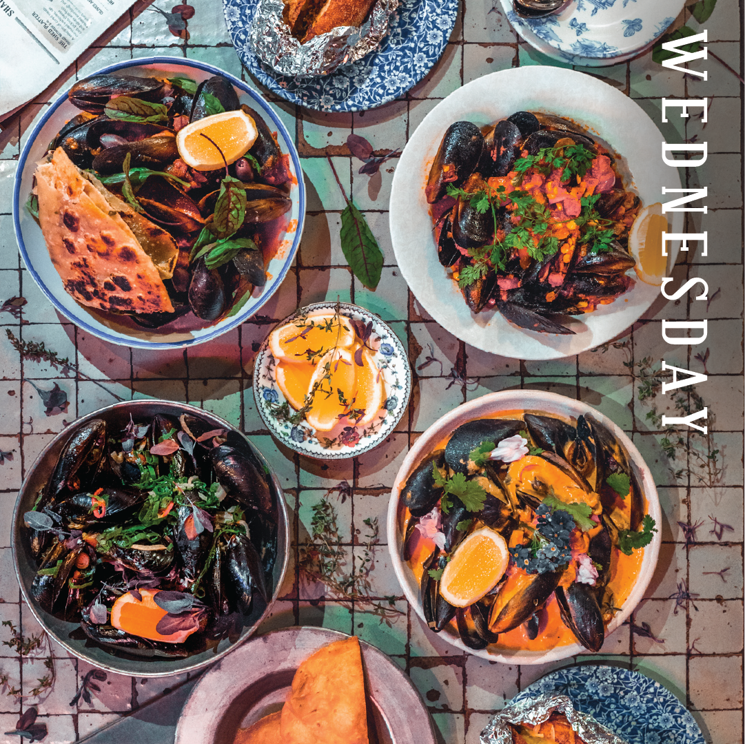 Mussel Night | The Potting Shed