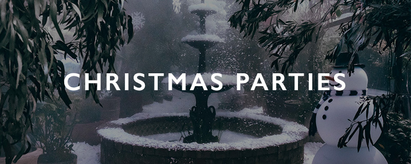 The Grounds Events | Christmas Parties