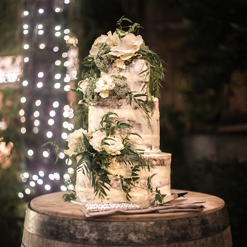 The Grounds Events - The Garden Wedding Cake