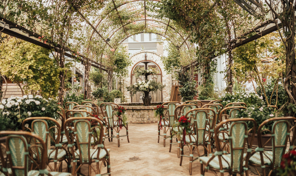 Weddings and Engagements at The Grounds of Alexandria