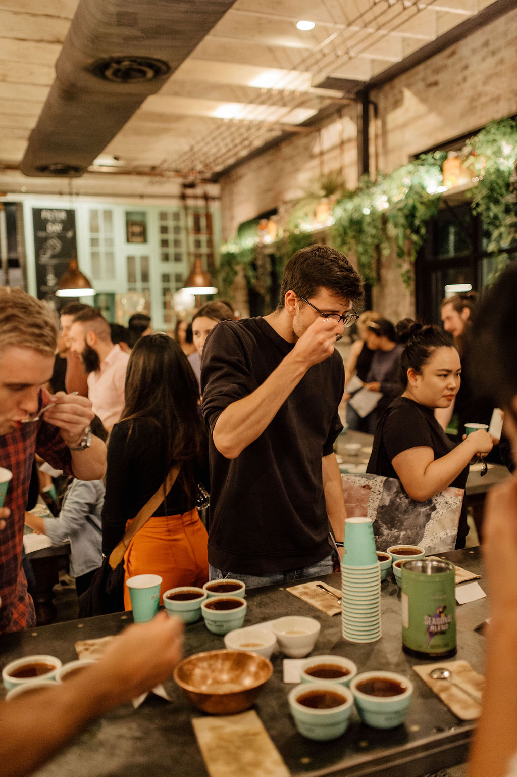 The Grounds Roastery Colombian Cupping Challenge