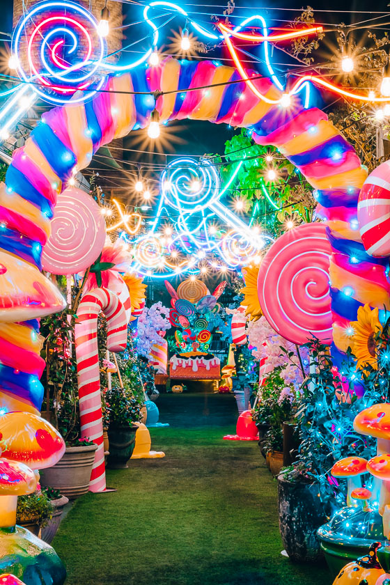 The Garden of Sweets
