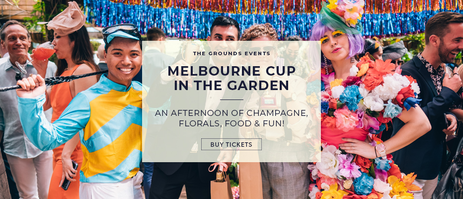 The Grounds Melbourne Cup Banner