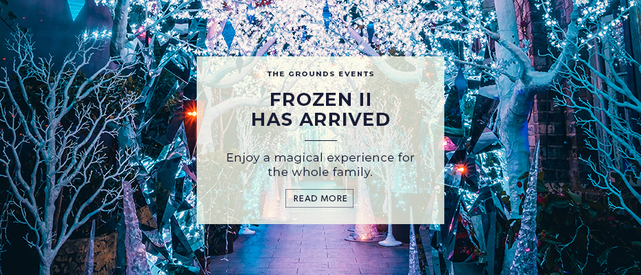 Frozen 2 has arrived at The Grounds!