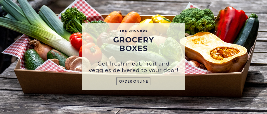 The Grounds at Home: Fresh Grocery Boxes
