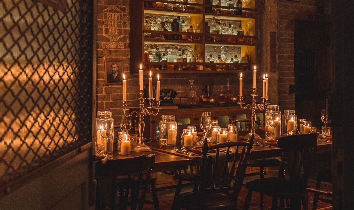 Private Dining at The Grounds of Alexandria