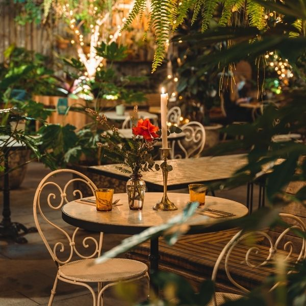 The Potting Shed :: Date Night Table Setting