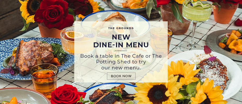 The Grounds | New Dine-In Menu