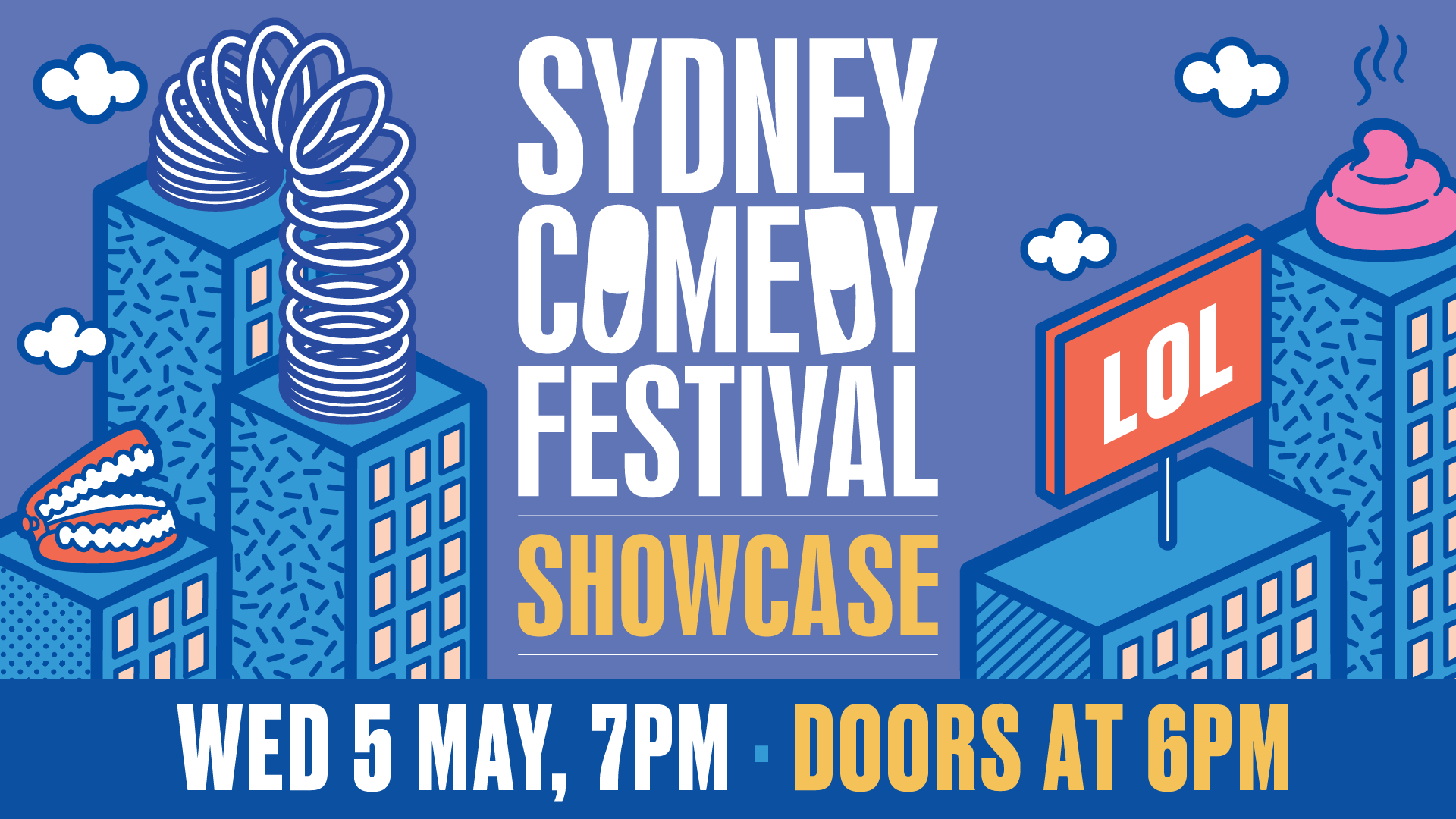 Sydney Comedy Festival Showcase at The Grounds of Alexandria