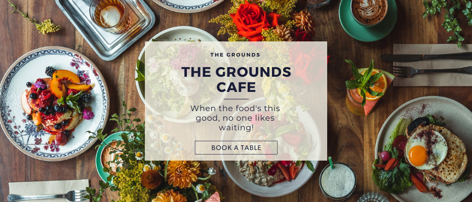 Make A Reservation | The Cafe at The Grounds of Alexandria