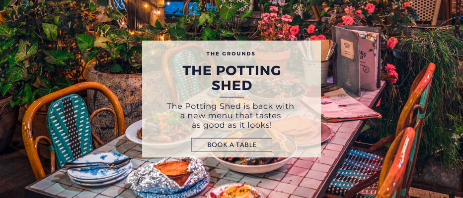 Make A Reservation | The Potting Shed at The Grounds of Alexandria